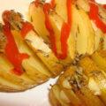 طرز تهیه غذای خوشمزه و خیلی سریع با سیب زمینی