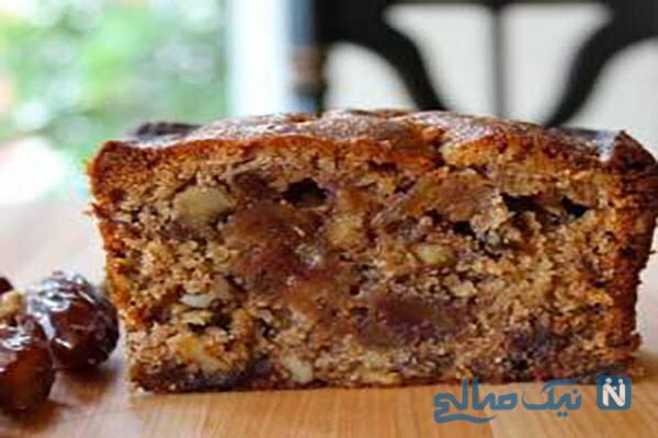 کیک خرمای لذیذ و مقوی را با این دستور ساده تهیه کنید!