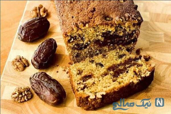طرز تهیه کیک خرمایی