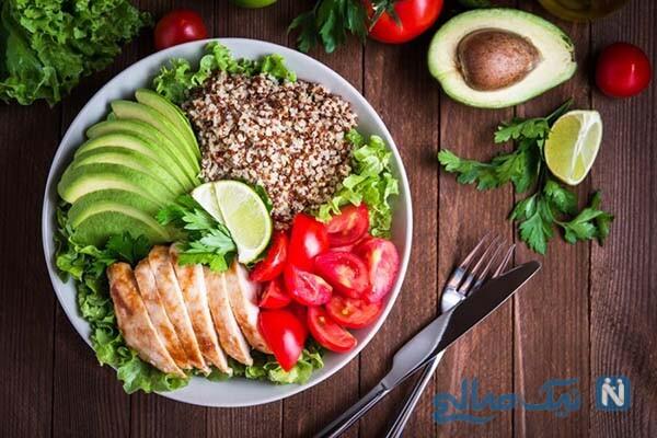 بفرمایید شام کم کالری + چند غذای رژیمی