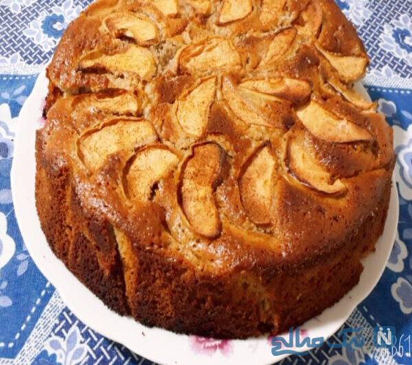 کیک سیب