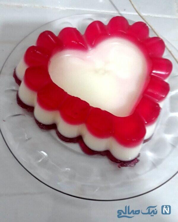 ژله قلبی
