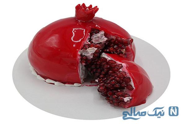 کیک اناری، یک دسر خاص و متفاوت ویژه شب یلدا