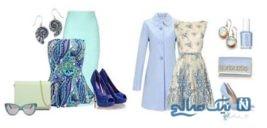 شیک ترین ست لباس زنانه و دخترانه با رنگهای شاد، برای روزهای رنگی تابستان +تصاویر