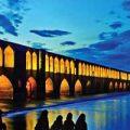 «زاینده رود» اصفهان را پس از بارش باران ببینید