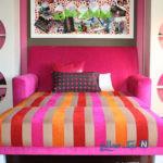 ایده هایی برای تلفیق اتاق خواب و اتاق نشیمن در آپارتمان های نقلی + تصاویر