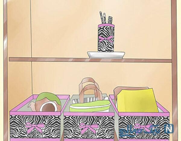 ساخت جعبه های زیبا و دکوراسیون اتاق دخترانه نوجوان