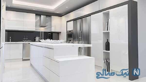 آشپزخانه مدرن و شیک