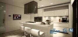 دکوراسیون آشپزخانه مدرن و شیک