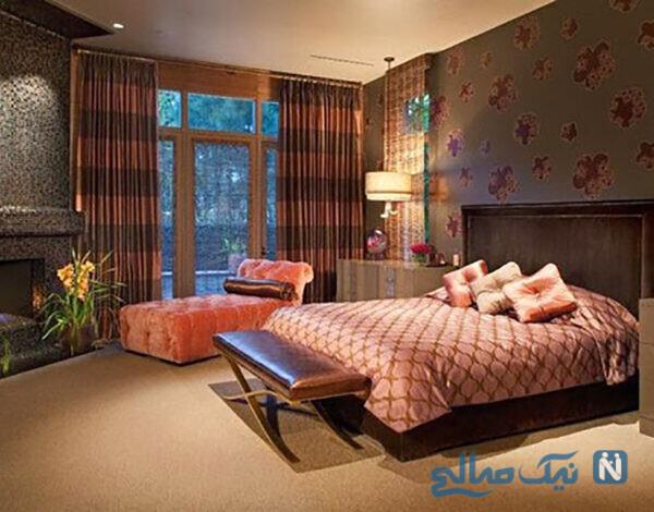 دکوراسیون زیبای اتاق خواب های لوکس سلطنتی