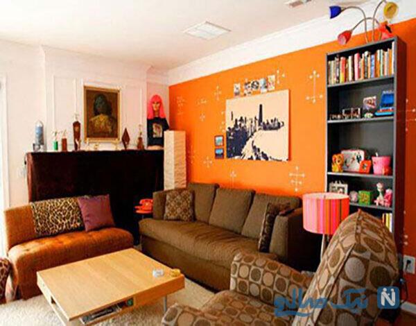 رنگآمیزی اتاق پذیرایی
