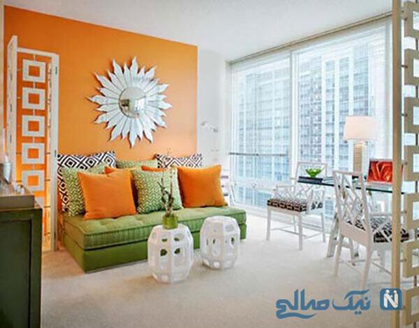 جادوی رنگ نارنجی در دکوراسیون منزل