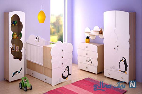 دکوراسیون های زیبای اتاق خواب کودک