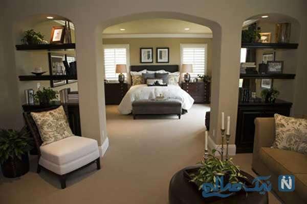 اتاق خواب های مدرن