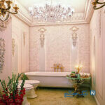 زیباترین مدل های سرویس بهداشتی برای منازل لوکس