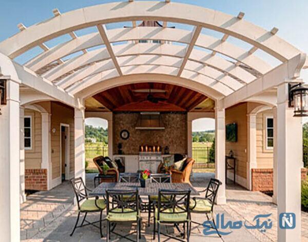 طراحی خانه کوچک و طراحی داخلی حیاط های نقلی