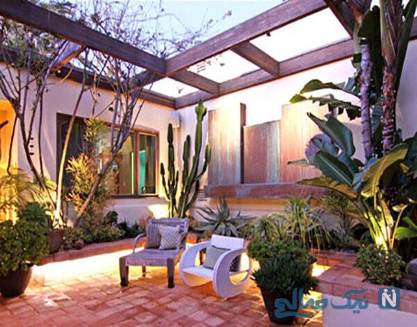 ایده جالب و کاربردی برای حیاط