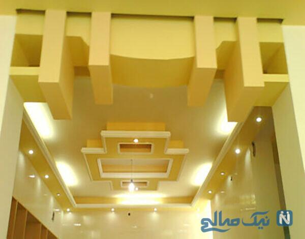 طراحی سقف منزل