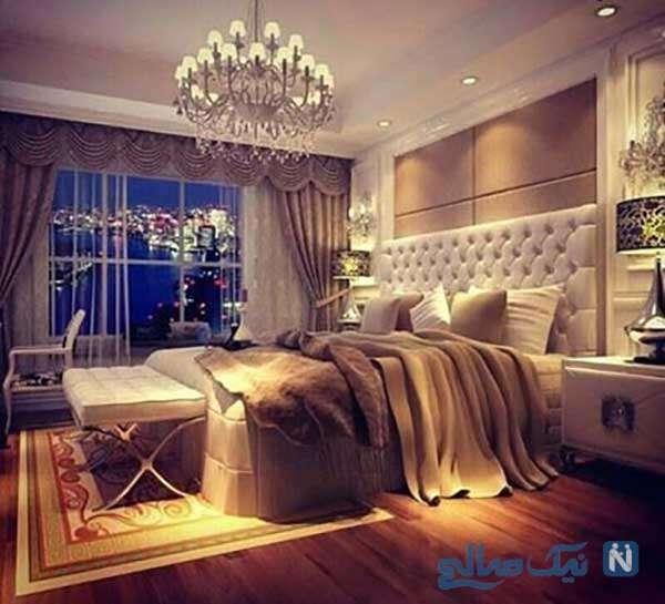 نور پردازی اتاق خواب