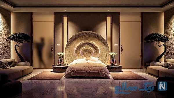مدرنترین نور پردازی اتاق خواب