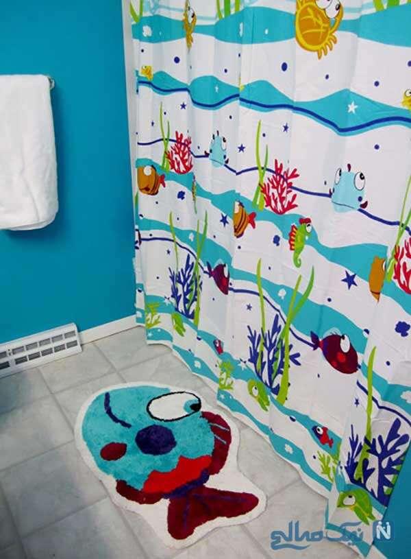 مدل پرده های حمام پسرانه