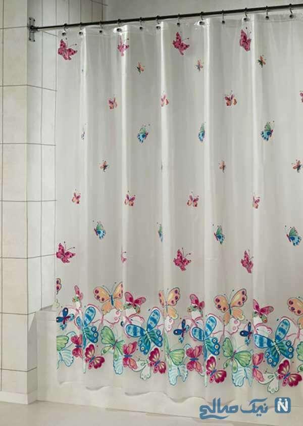 دکوراسیون پرده حمام