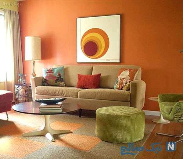 دکوراسیون داخلی با رنگ های شاد