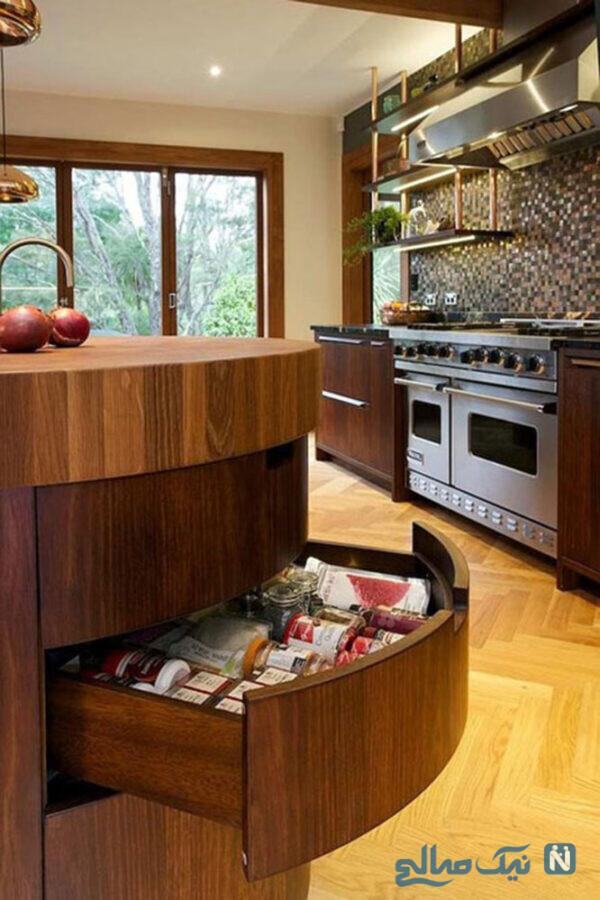 مدل کابینت گوشه آشپزخانه