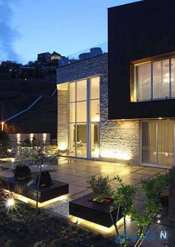 طراحی محوطه بیرونی منزل