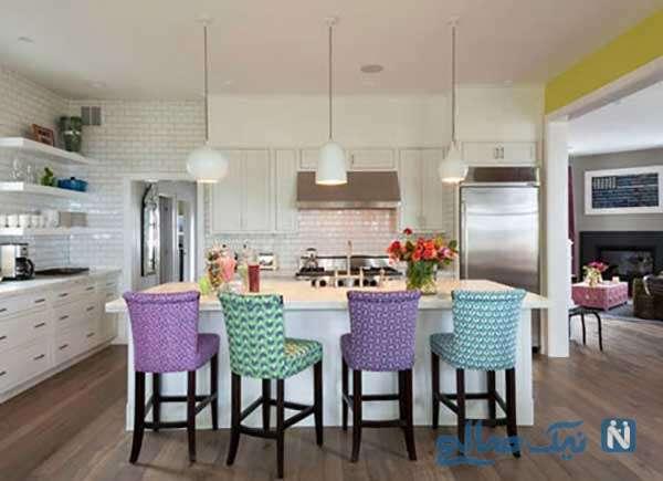 طراحی آشپزخانه های سفید