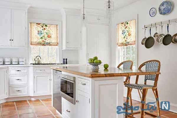 اصول طراحی آشپزخانه سفید