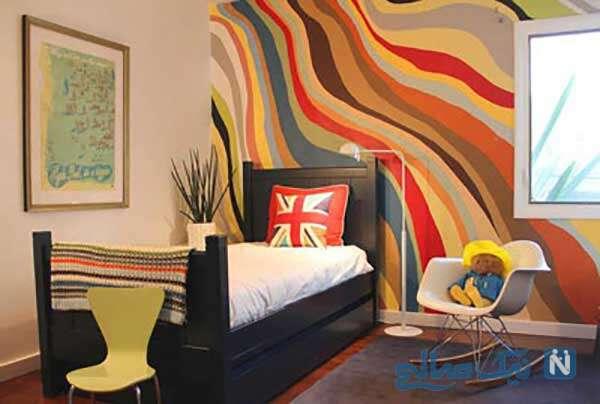 طراحی هیجان انگیز اتاق خواب
