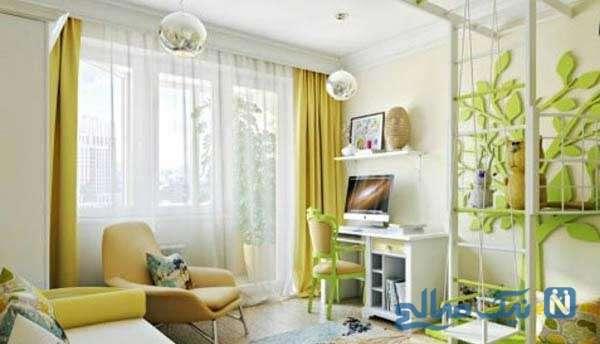 طراحی اتاق بچه مناسب دختر و پسر