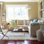 استفاده از کاناپه های سفید در چیدمان زمستانی + تصاویر