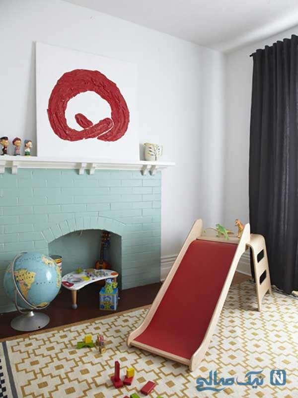 ایده های سرسره بازی در خانه