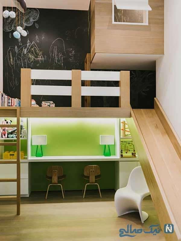 سرسره های کنار تخت خواب