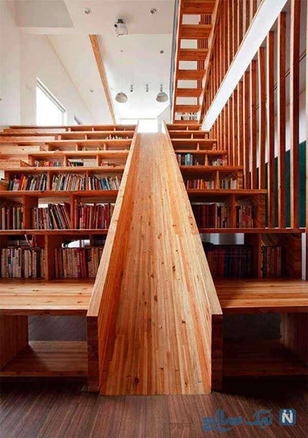 سرسره ها و کتابخانه