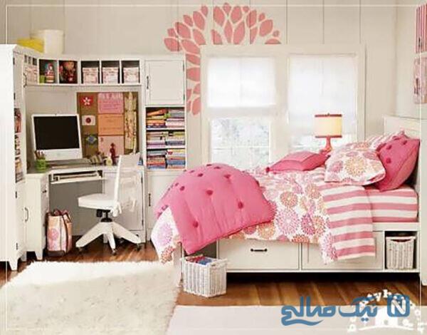 زیبا ترین مدل اتاق دختر نوجوان
