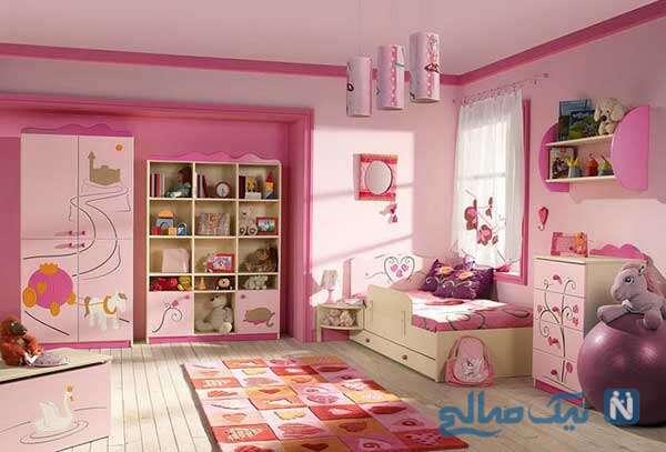 اتاق دخترانه شیک