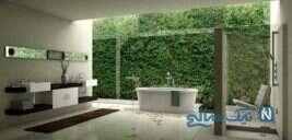 دکوراسیون حمام های مدرن اروپایی