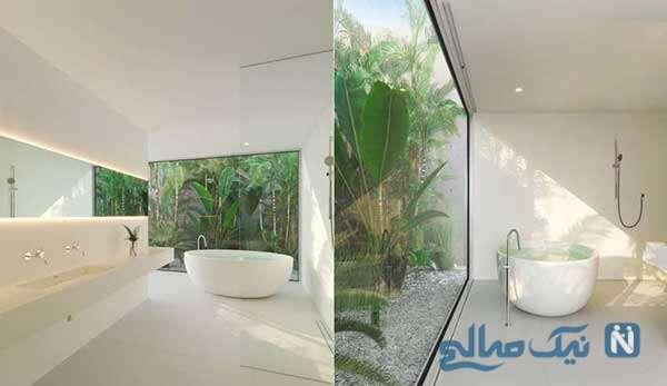 زیباترین دکوراسیون حمام