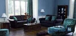 دکوراسیون داخلی منزل با رنگ های تیره