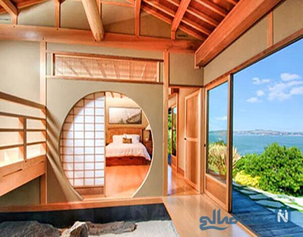 فضاهای داخلی خانه به سبک ژاپنی