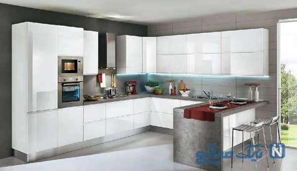 دکوراسیون های جدید و زیبای آشپزخانه