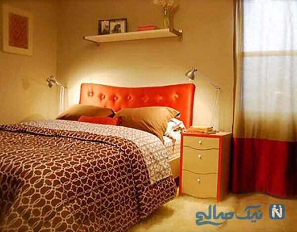 دکوراسیون پاییزی اتاق خواب