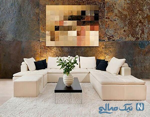 دکور منزل با تابلوهای مدرن