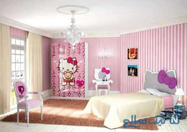 دکور جدید اتاق دختر