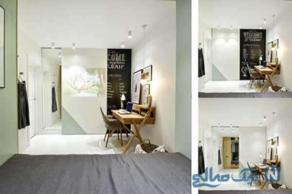 طراحی اتاق ۱۴ متری با ایده های بی نظیر