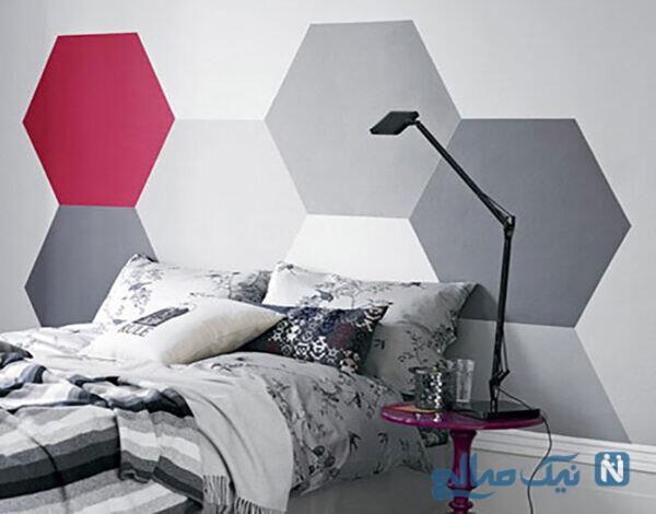 کاغذ دیواری مناسب بای تخت