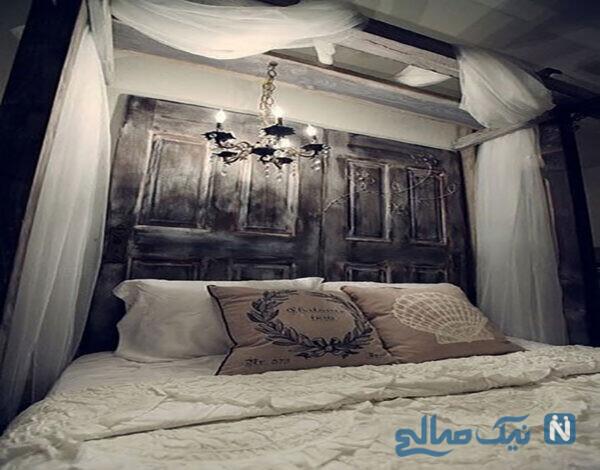 ایجاد تابلو تزیین دکور بالای تخت خواب